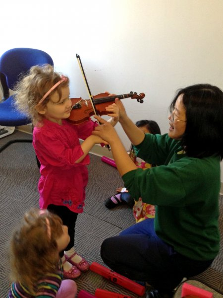 Learning Violin