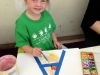 Learning letters by painting