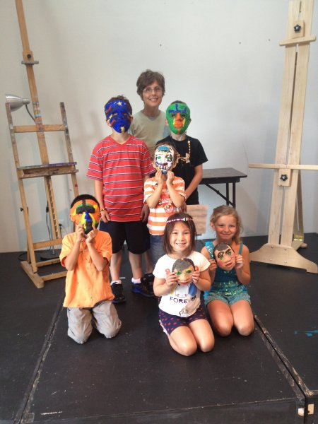 Showing off our masks