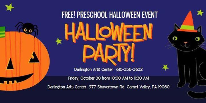 Preschool Halloween Event